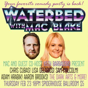 mac blake austin comedy shows