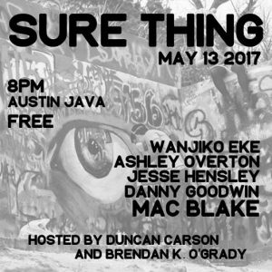 sure thing comedy austin texas
